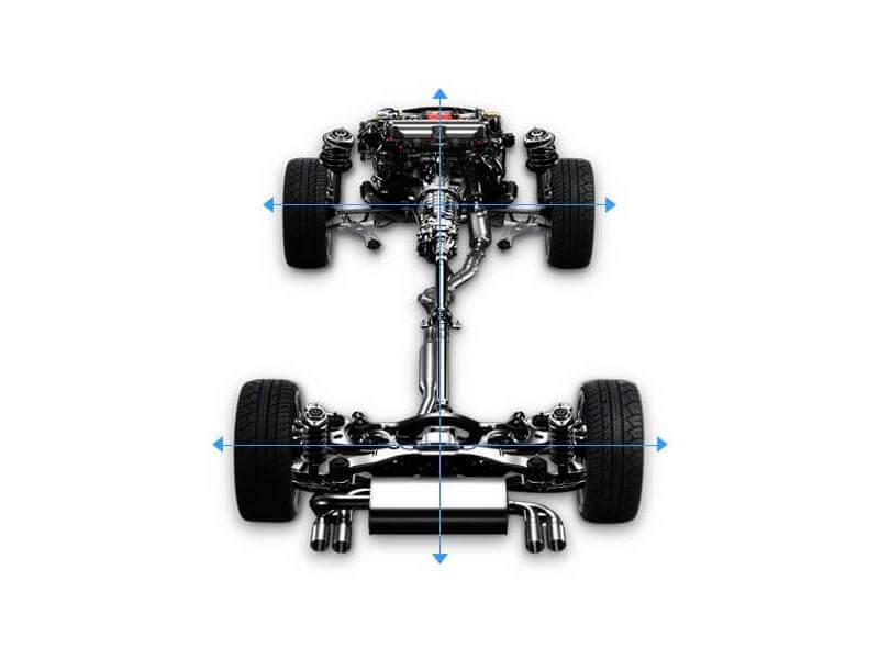 Hệ dẫn động bốn bánh toàn thời gian S-AWD của Subaru